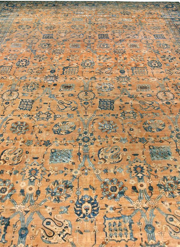 Antique Persian Kirman Carpet BB3565