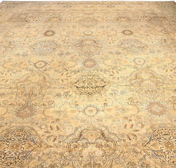 Oversized Antique Persian Kirman Carpet BB4026