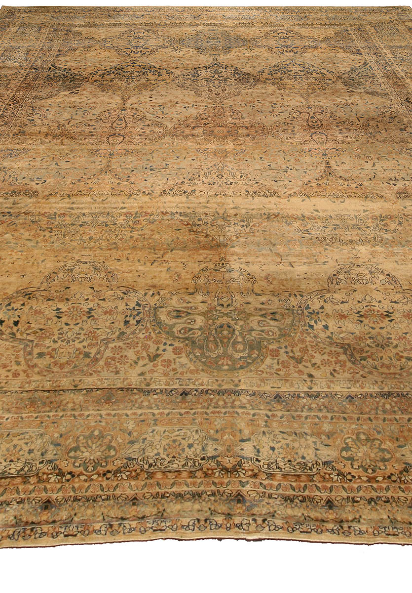 Antique Persian Kirman Carpet BB4242
