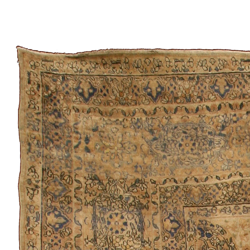 Antique Persian Kirman Carpet BB4242
