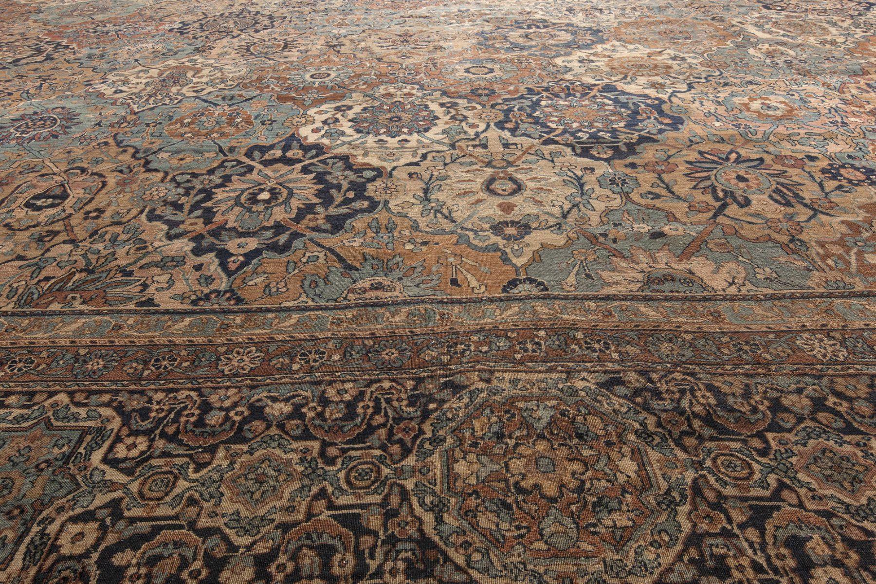 Antique Persian Kirman Rug BB4644