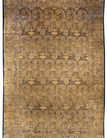 Antique Persian Kirman Rug BB0772
