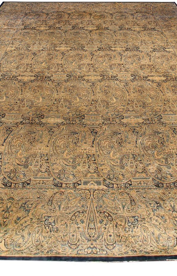 Antique Persian Kirman Rug BB0772