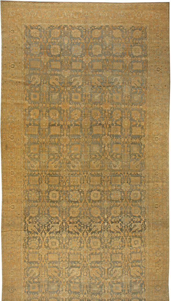 Oversized Kirman persa antigo tapete BB6025