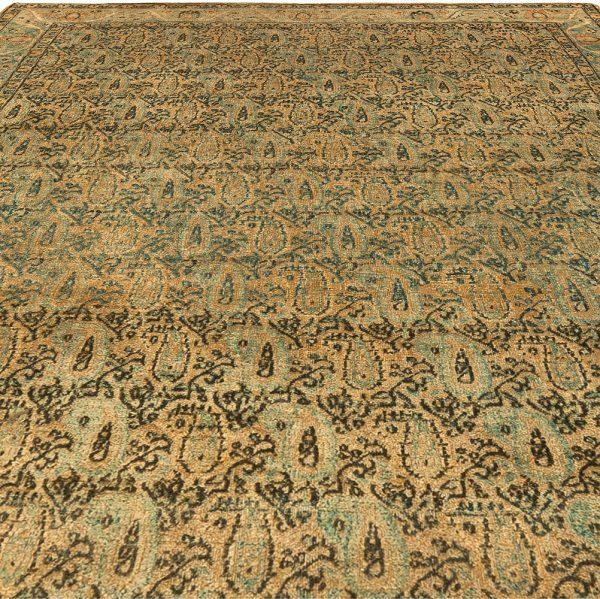 Antique Persian Kirman Rug BB5299