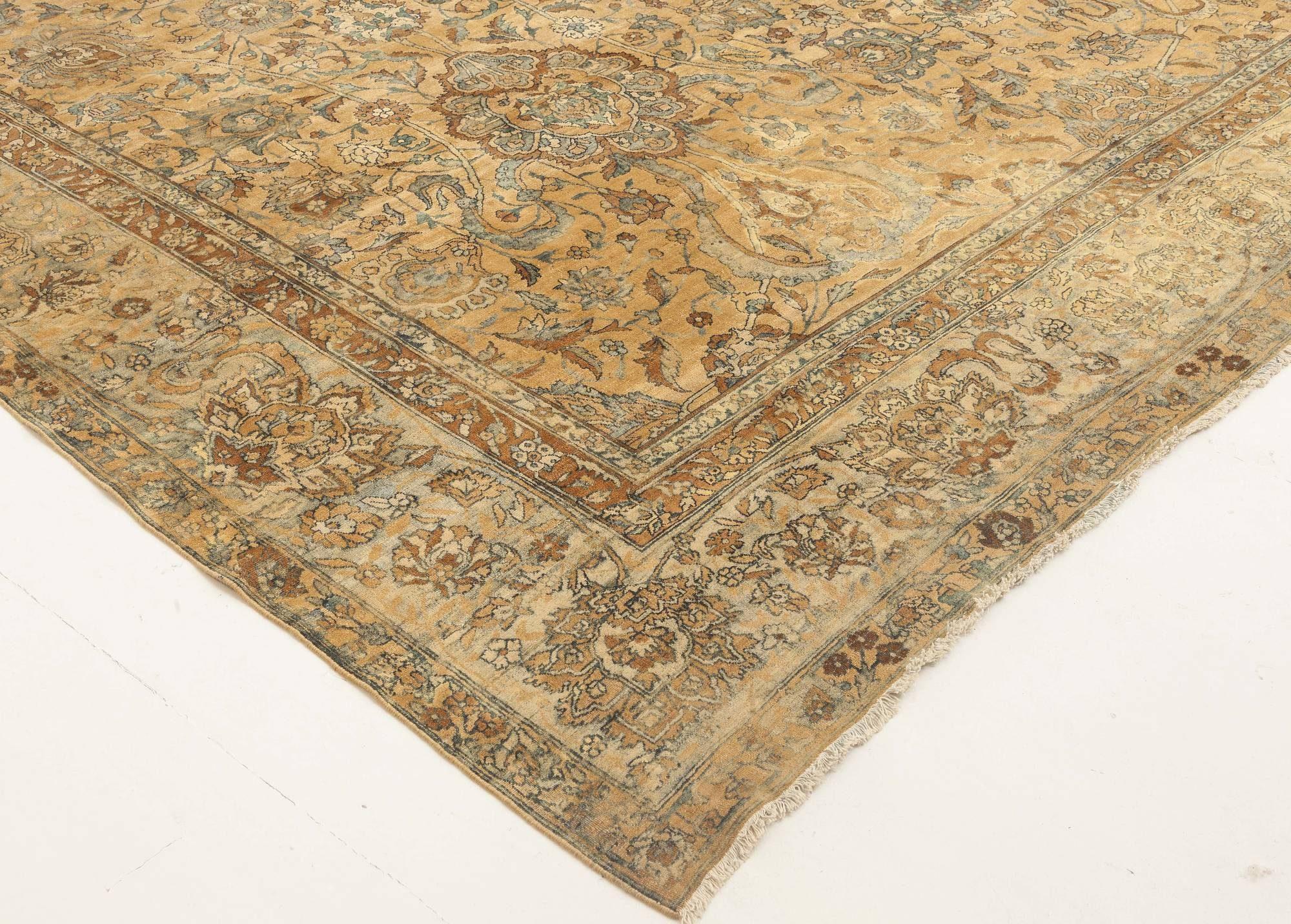 Antique Persian Kirman Carpet BB2841