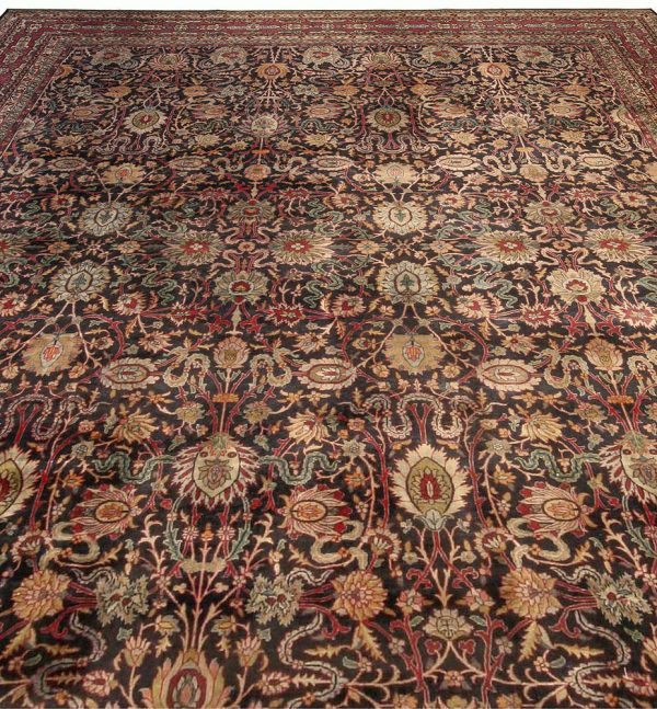 Antique Persian Kirman Carpet BB3696
