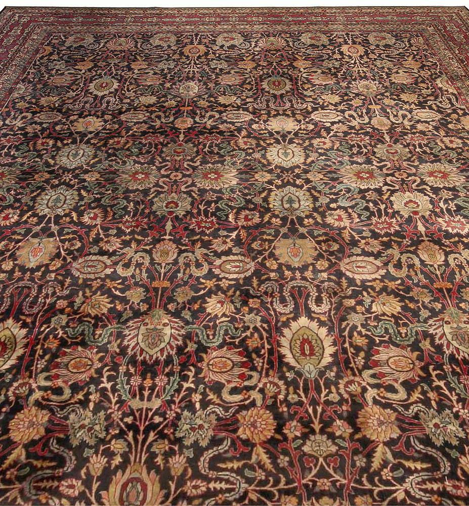 Antique Persian Kirman Carpet BB3696