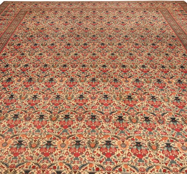Antique Persian Kirman Rug BB4454