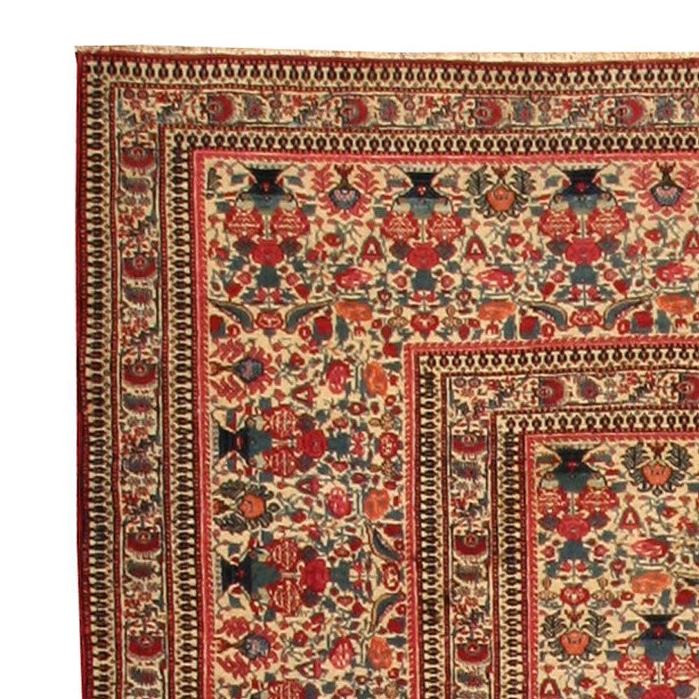 Antique Persian Kirman Rug BB4454