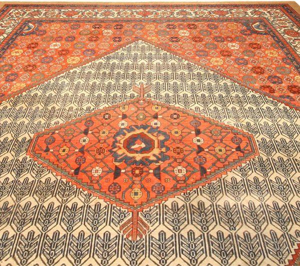 Antique Persian Malayer Rug BB4766