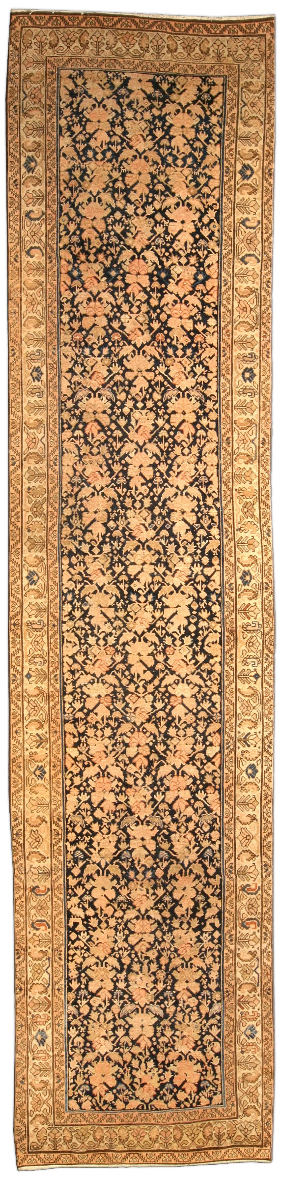 Vintage Persian Malayer runner BB3868