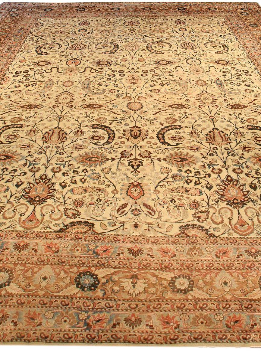 Antique Persian Meshad Carpet BB3866