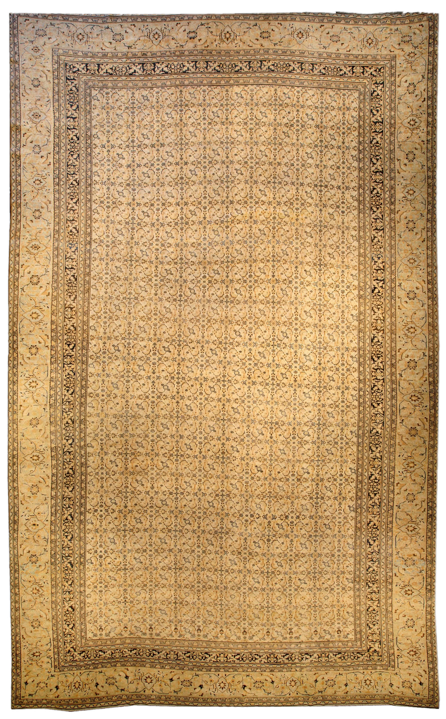 Antique Persian Meshad Carpet BB4035