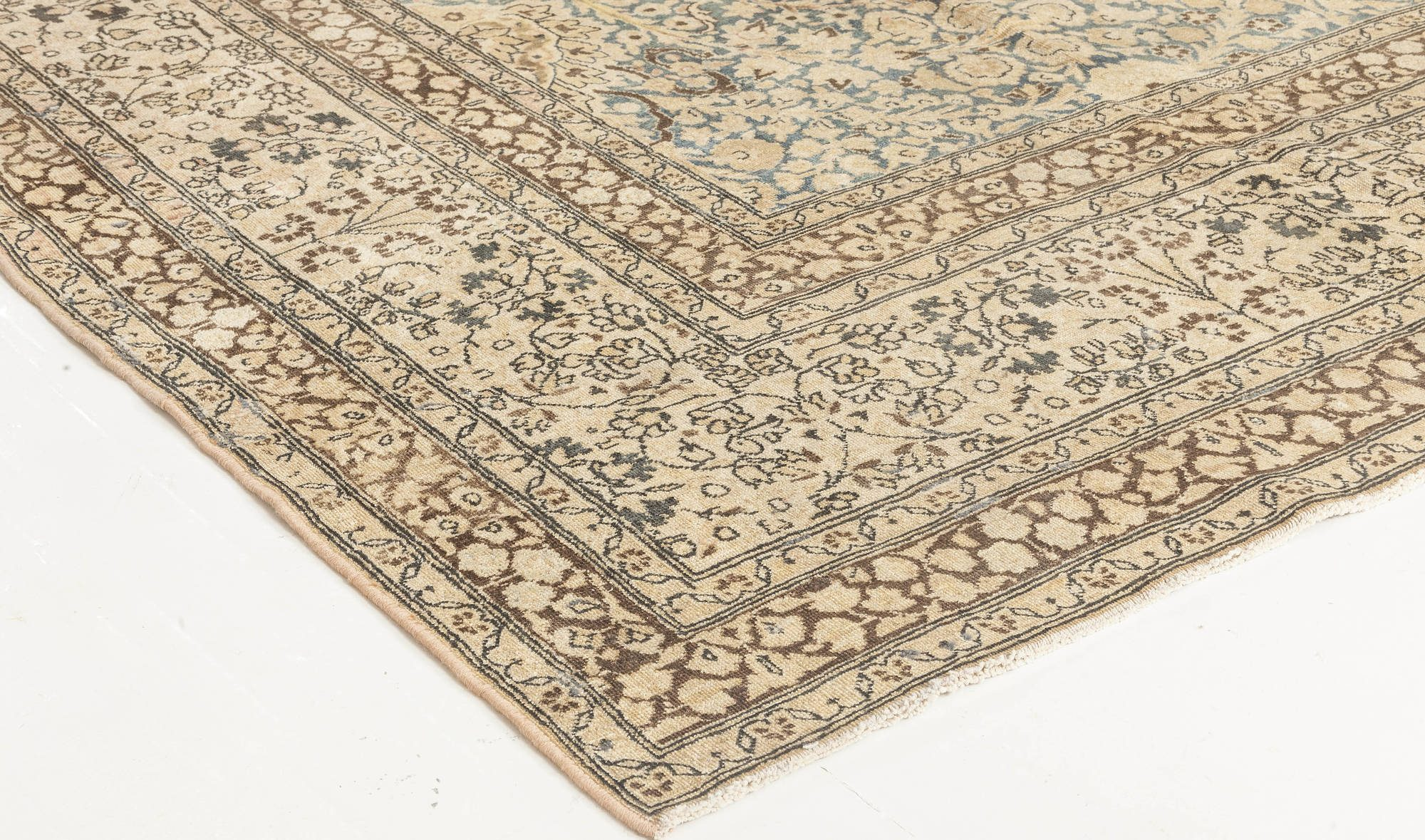 Antique Persian Meshad Carpet BB2287