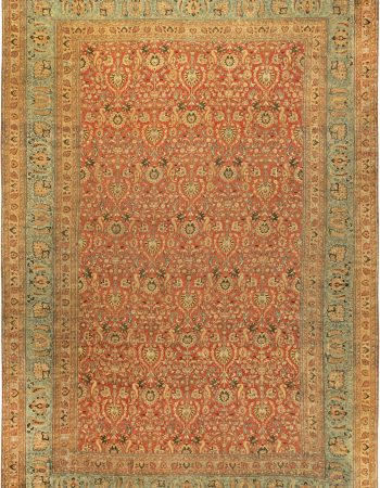Antique Persian Meshad Rug BB6128