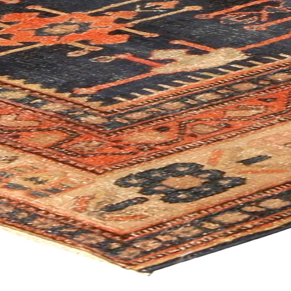 Antique Persian Senneh Rug BB4509