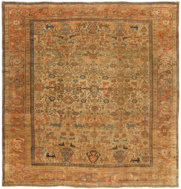 Antique Persian Sultanabad Carpet BB3595