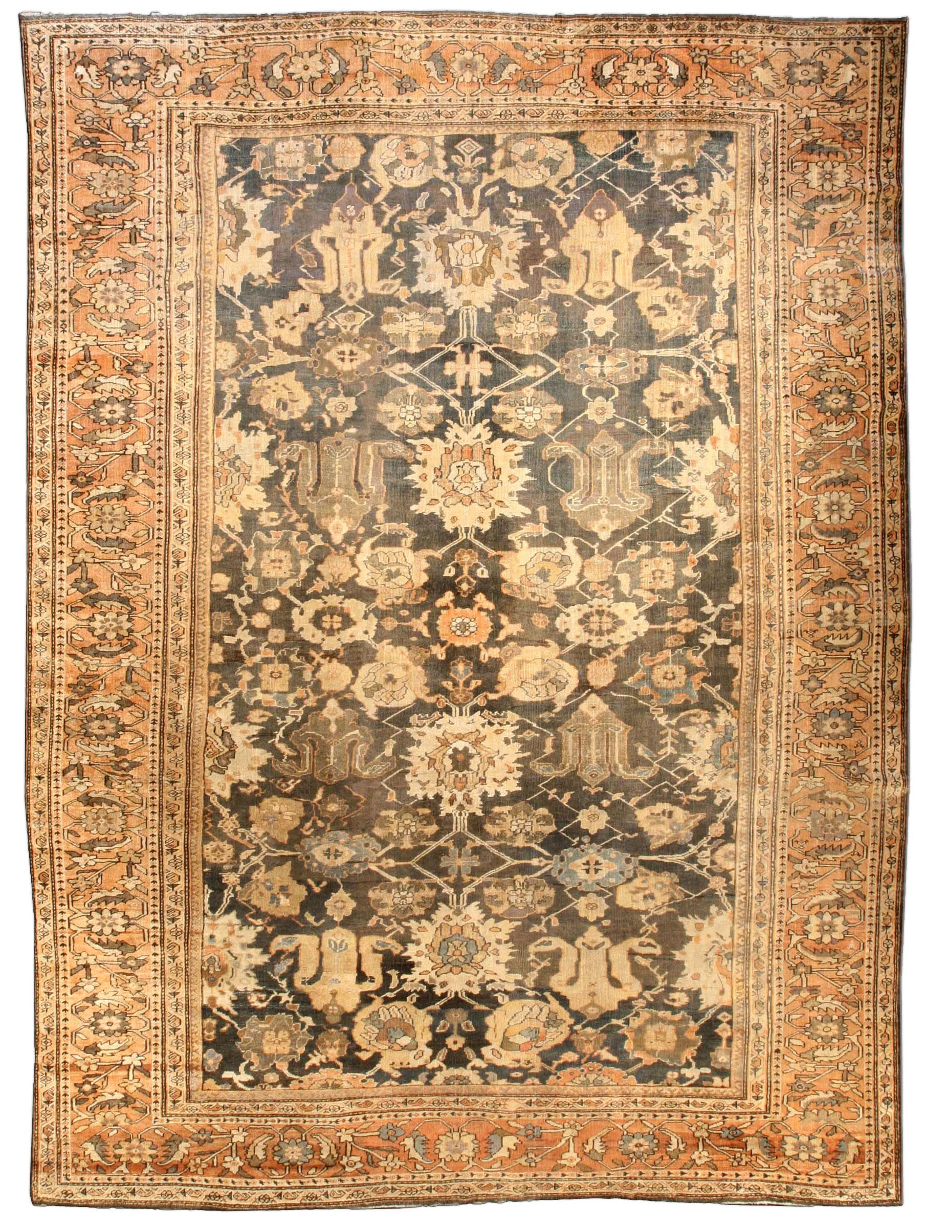 Vintage Persian Sultanabad Rug BB3946