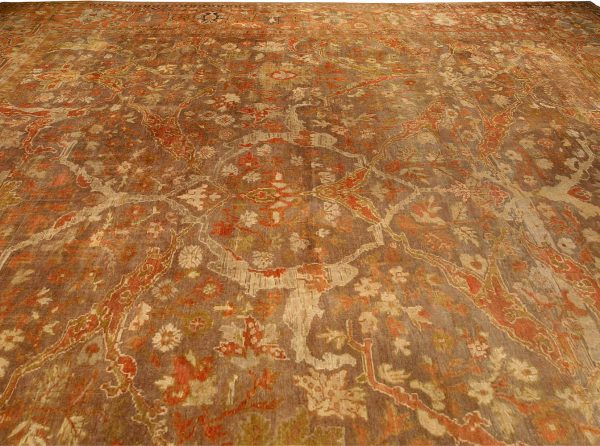 Antique Persian Sultanabad Carpet (size adjusted) BB4267