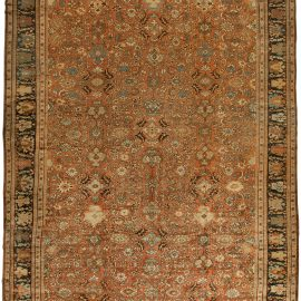 Antique Sultanabad Brown Rug BB0490