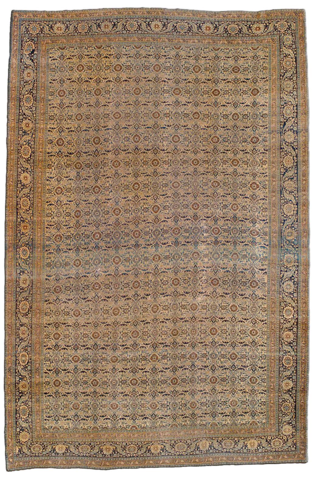 Persian Tabriz Carpet BB1256