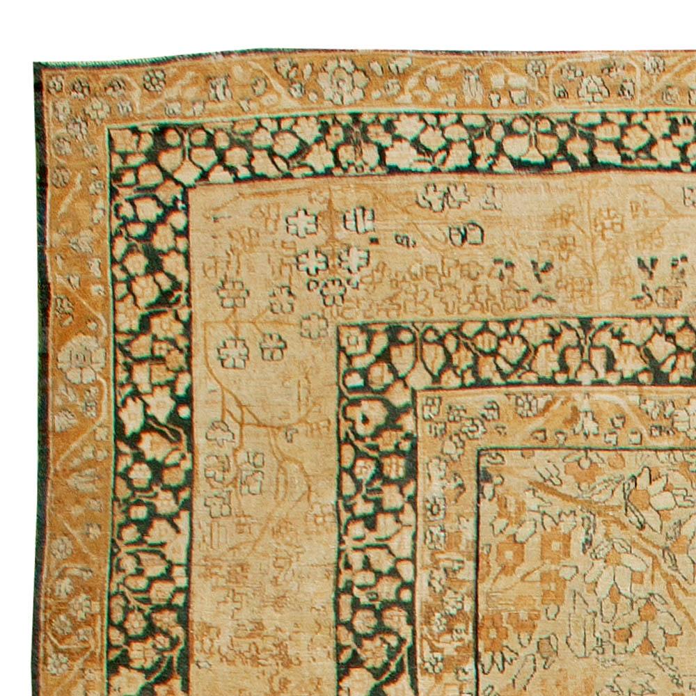 Antique Persian Tabriz Rug Bb2938 By Dlb