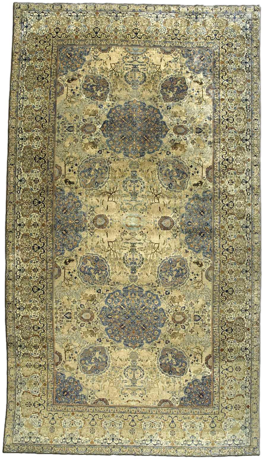 Persian Tabriz Rug BB3370