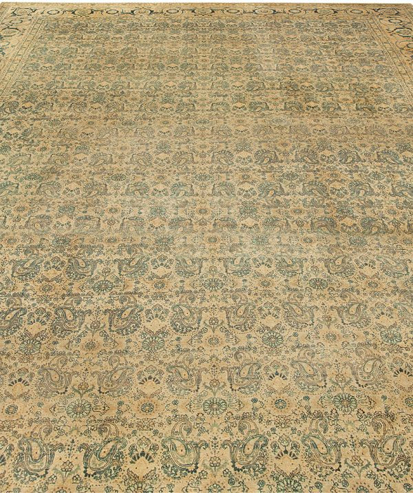 Antique Persian Tabriz Carpet BB3422