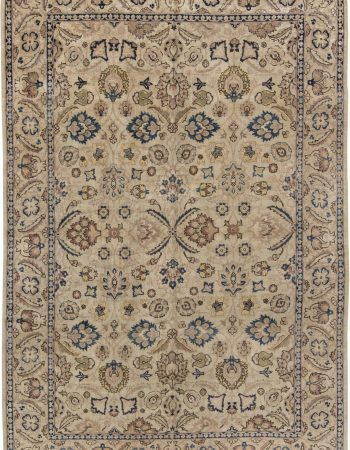 Antique Persian Tapis Tabriz BB3519