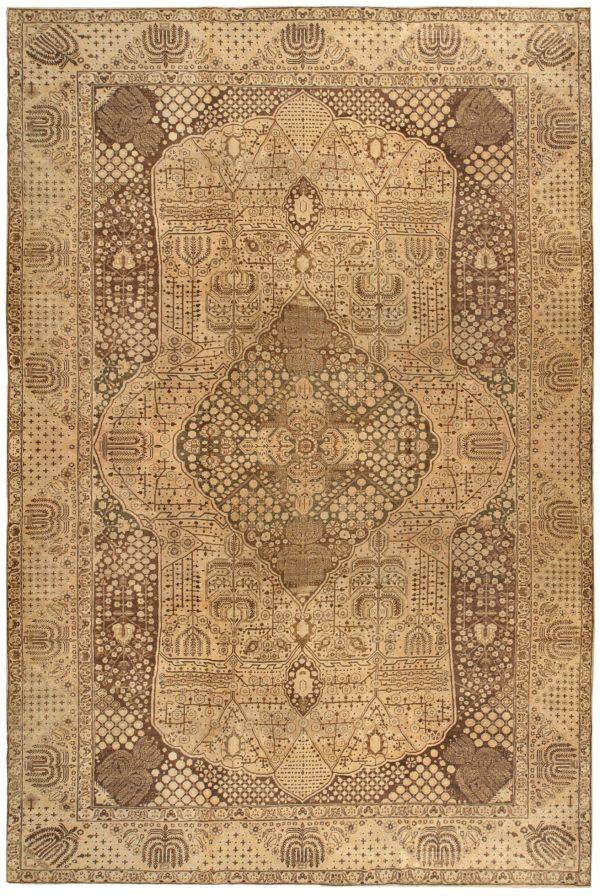 Vintage Persisch Tabriz Teppich BB0149