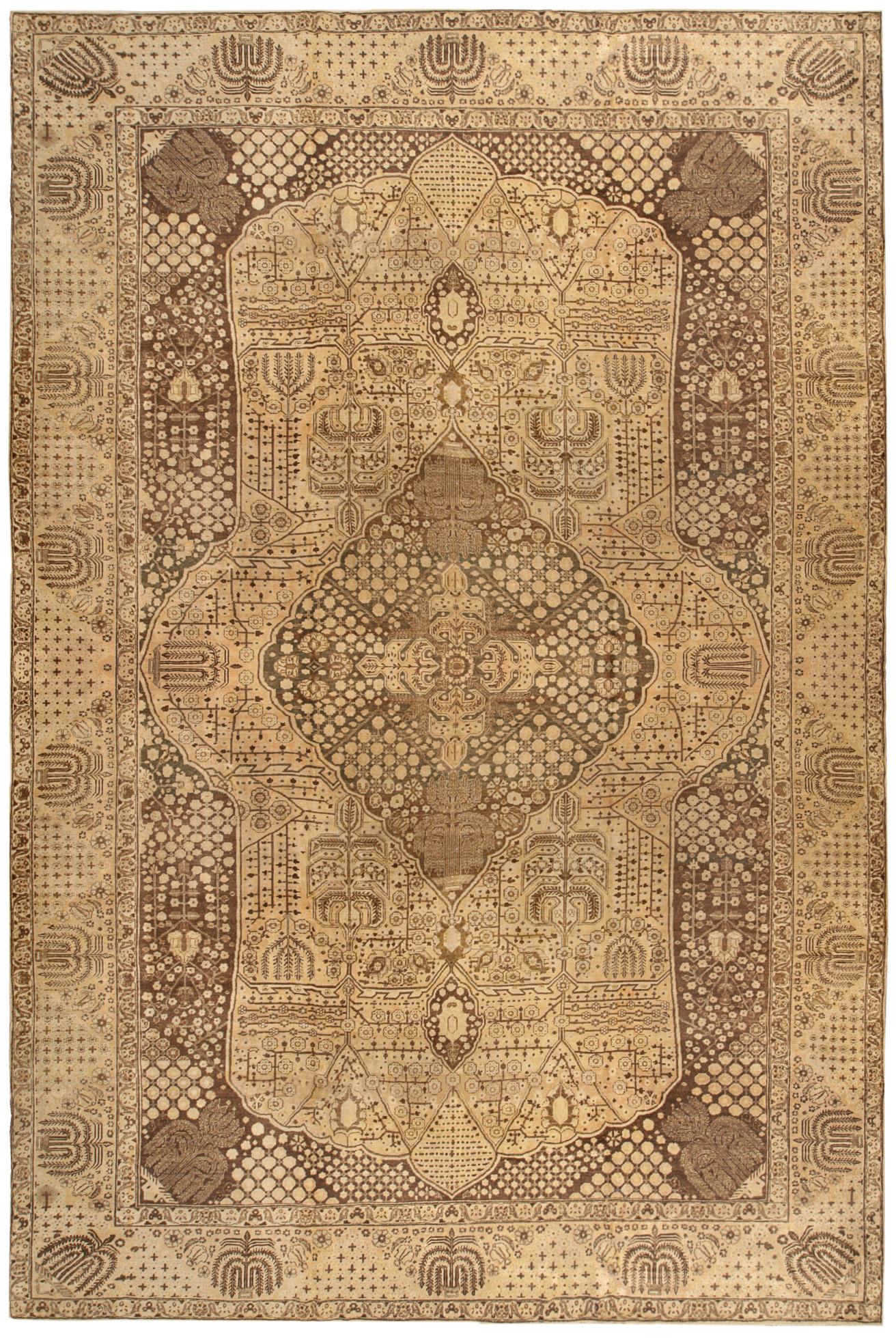 Vintage Persian Tabriz Rug BB0149