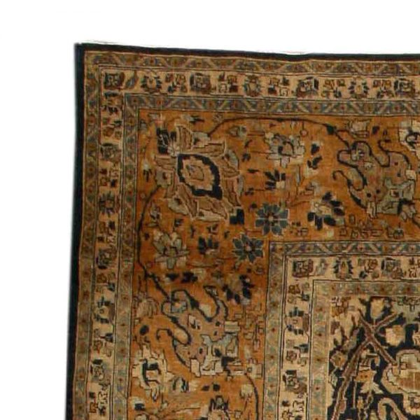 Vintage Persian Tabriz Carpet BB3746