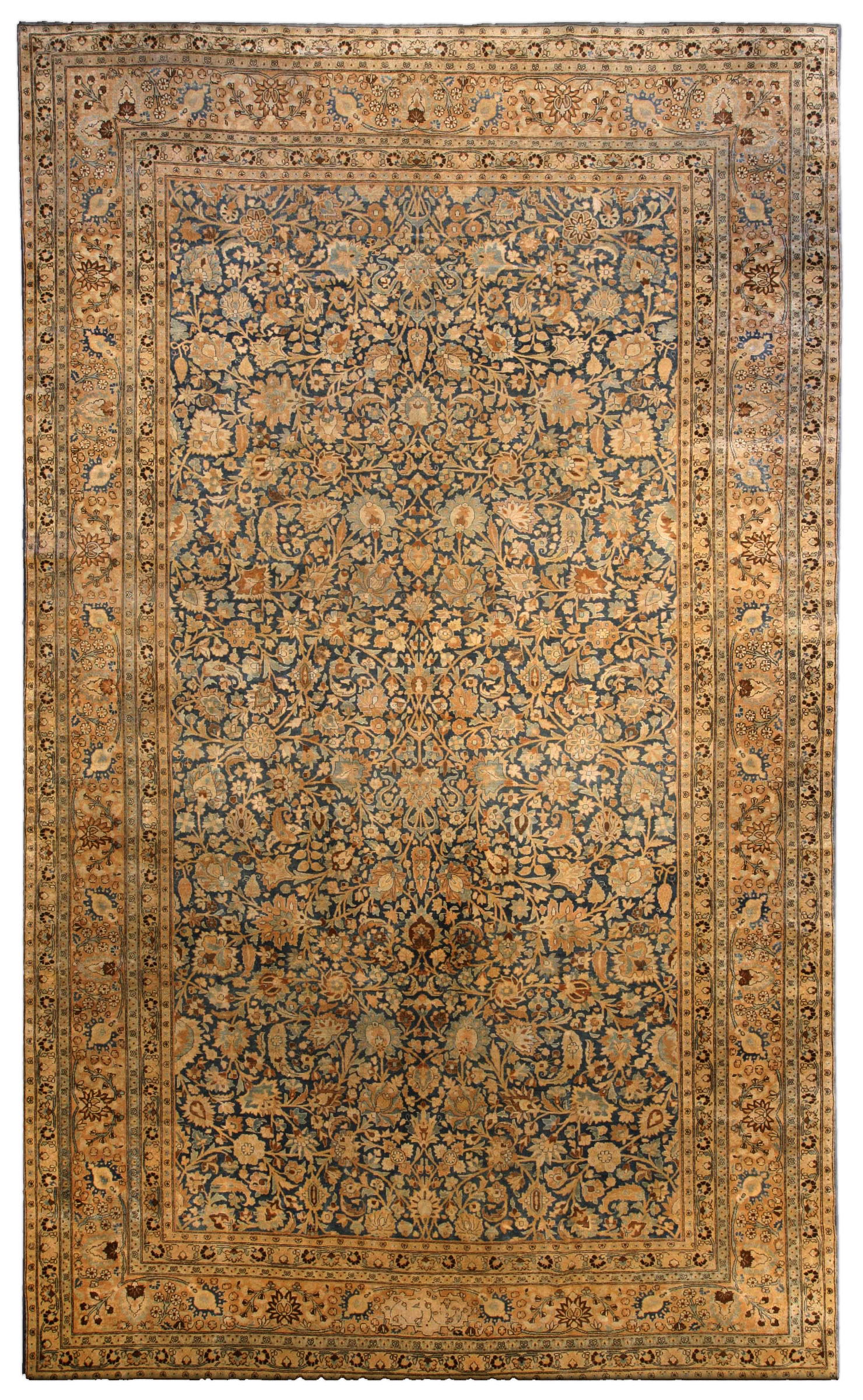Antique Persian Tabriz Carpet Bb4048 By Dlb