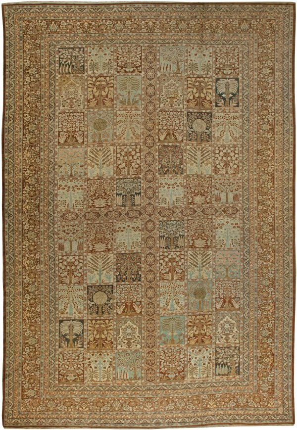 Persian Tabriz Antique Carpet BB5961