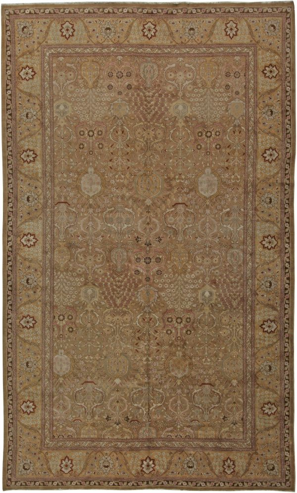 Antique Persian Tabriz Rug BB5703