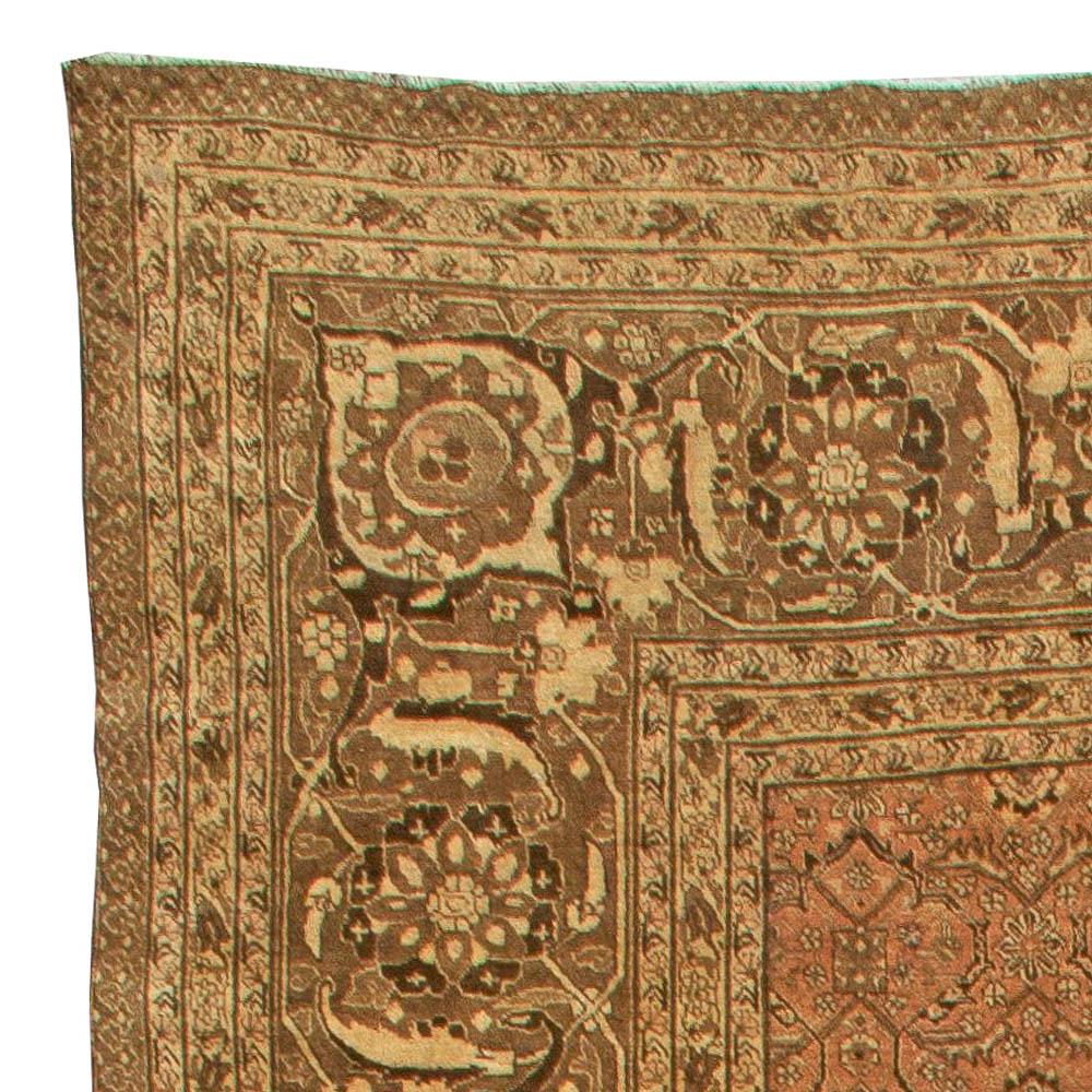 Large Antique Persian Tabriz Carpet BB5932