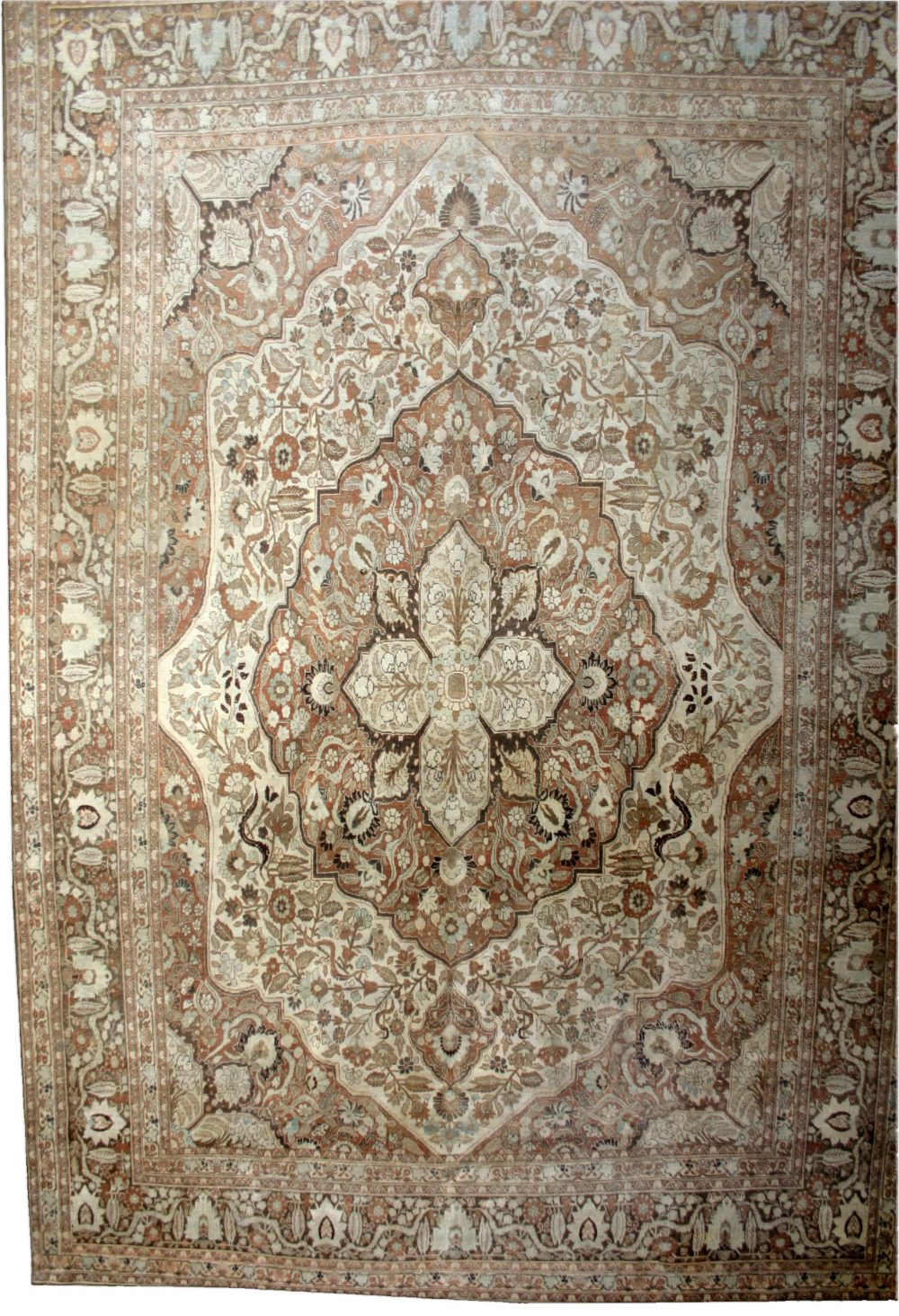 Vintage Persian Tabriz Rug BB2460