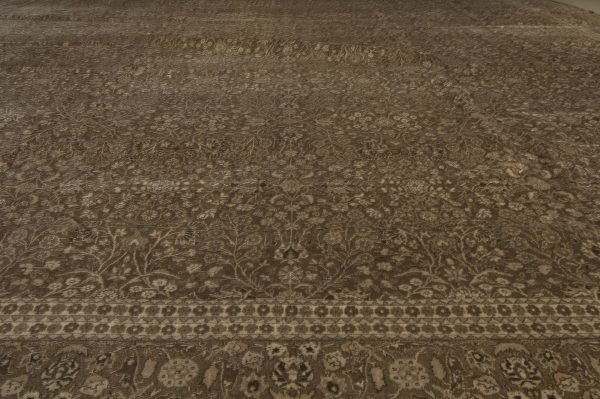 Antique Persian Tabriz Carpet BB3579
