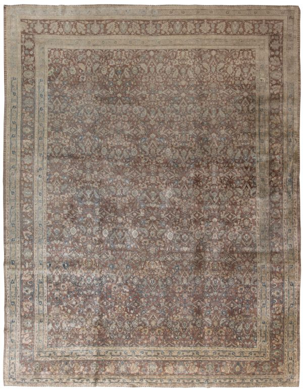 Antique Persian Tabriz Rug BB4654