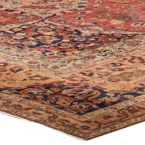 Antike persische Tabriz Teppich BB1596