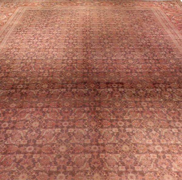 Antique Persian Tabriz Carpet BB2181