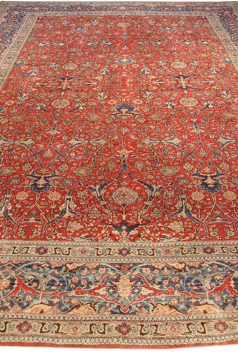 Antique Persian Tabriz Carpet Bb3977 By Doris Leslie Blau