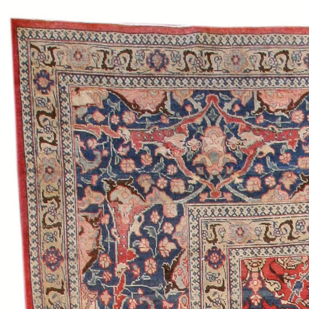 Antique Persian Tabriz Carpet BB3977