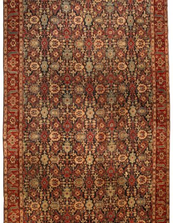 Antique Persian Tabriz Rug BB4330