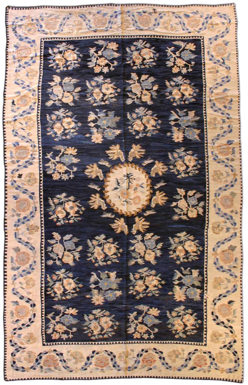 Antique Russian Bessarabian Carpet BB3117