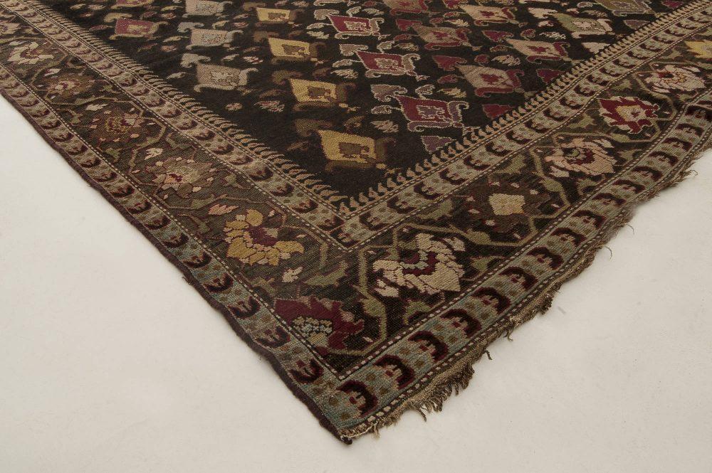 19th Century Russian Karabagh Handwoven Wool Rug BB2864