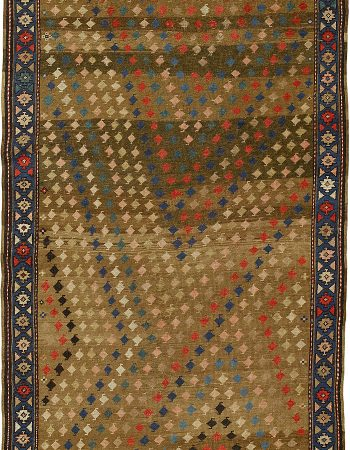 Antique Karabagh runner BB4500