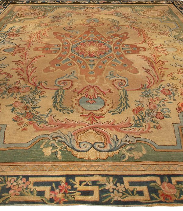 Large Antique Savonnerie Rug BB5124
