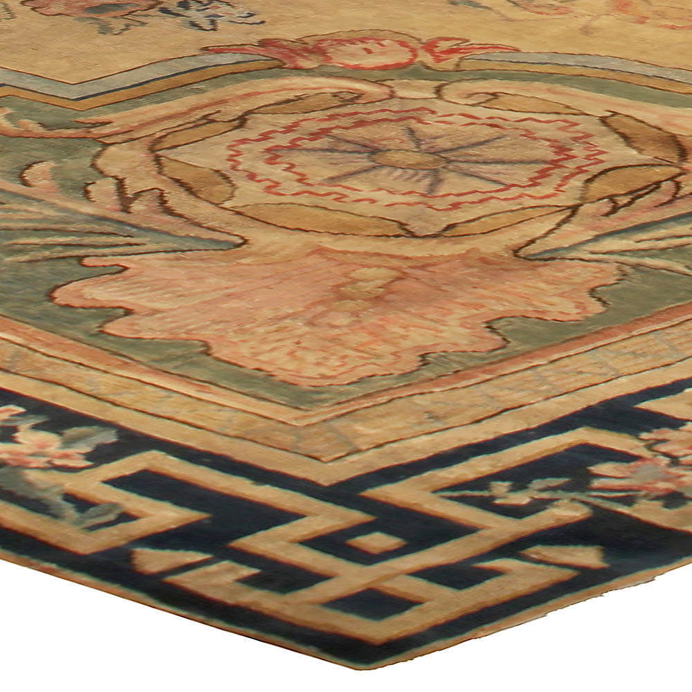 Antique Large Rug: Large Antique Savonnerie Rug BB5124 By Doris Leslie Blau